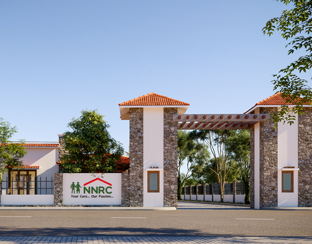 Image of NNRC Senior citizen homes also known as NNRC Retirement homes is a place, home, villa, gated community for seniors, elder, aged ,retired, old people located at Coimbatore