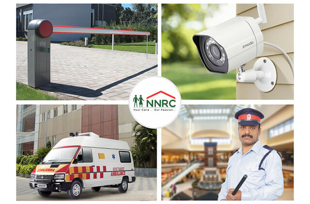 Image of Safe and Secure at NNRC Senior citizen homes also known as NNRC Retirement homes is a place, home, villa, gated community for seniors, elder, aged, retired, old people located at Coimbatore