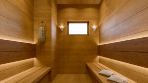 Sauna (free) at NNRC retirement homes in coimbatore