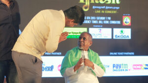 Meeting Illayaraja – NNRC Retirement Community Coimatore 2