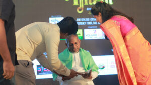 Meeting Illayaraja – NNRC Retirement Community Coimatore