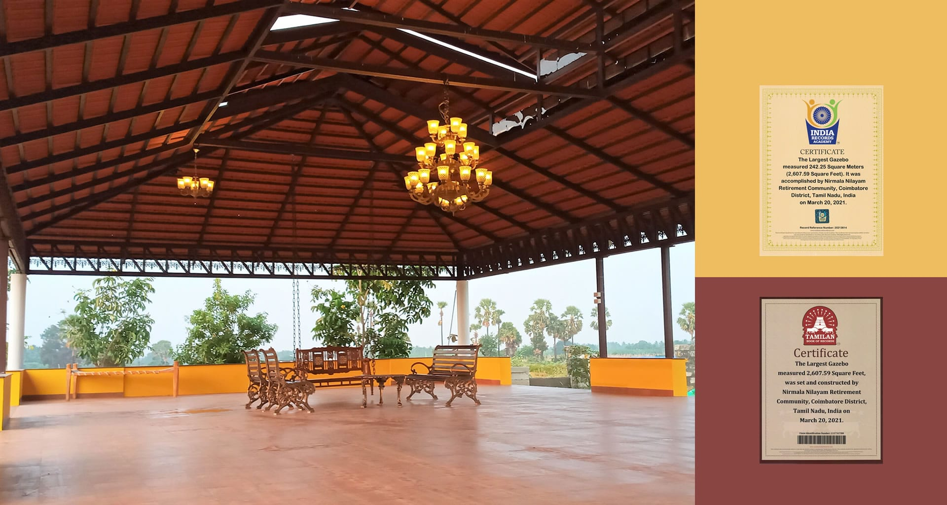 Image of NNRC Senior citizen homes also known as NNRC Retirement homes is a place, home, villa, gated community for seniors, elder, aged, retired, old people located at Coimbatore